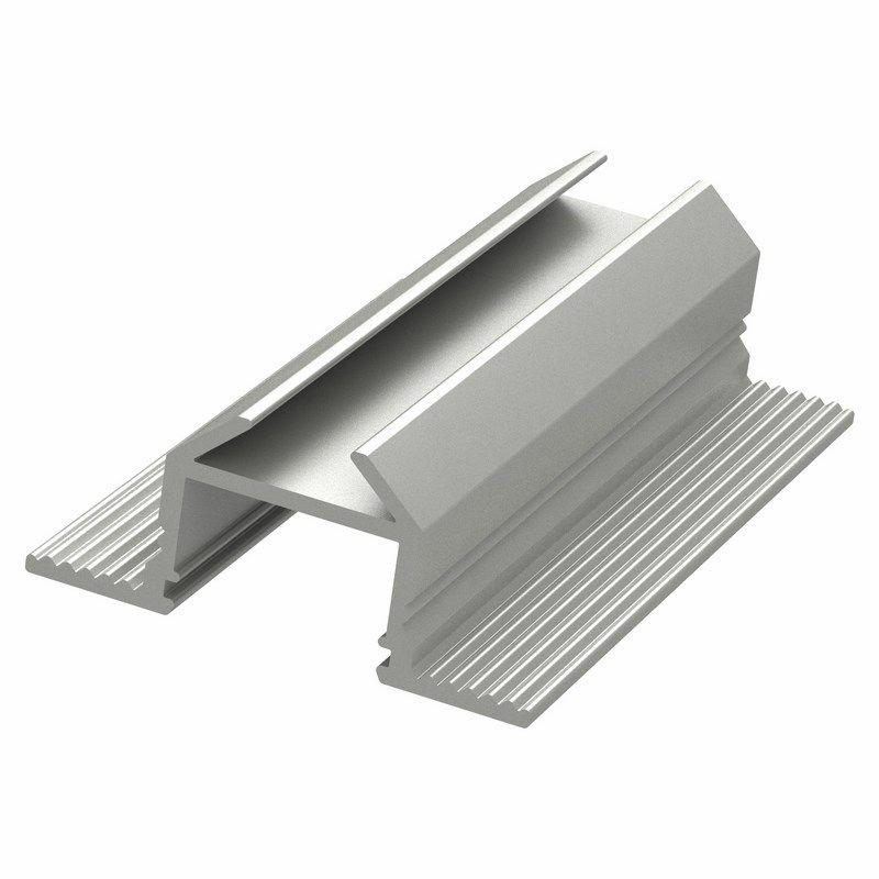 Алюминиевый анодированный профиль накладной/врезной угловой (3 метра) NEON-NIGHT<br>