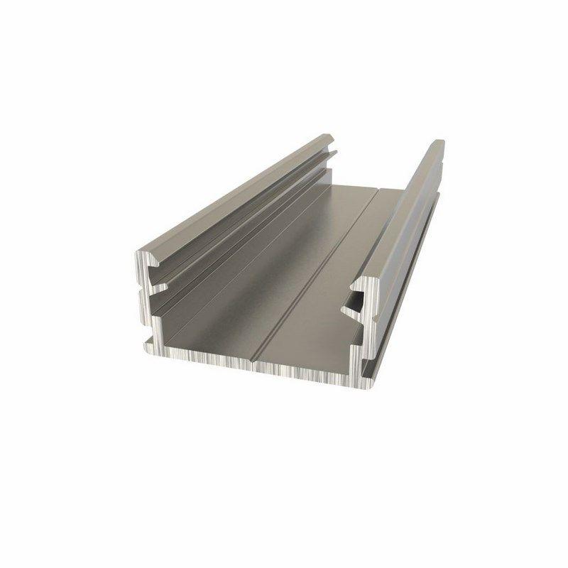 Алюминиевый анодированный профиль накладной/подвесной низкий (2 метра) NEON-NIGHT<br>