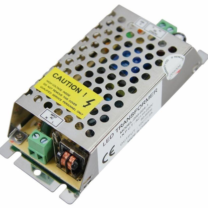 Источник питания 220V AC/12V DC, 2A, 24W с разъёмами под винт, без влагозащиты (IP23)<br>Бренд: REXANT;