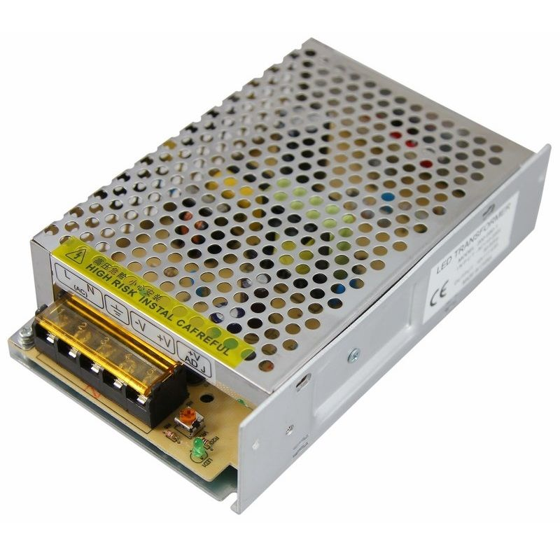 Источник питания 220V AC/12V DC, 4,5A, 50W с разъёмами под винт, без влагозащиты (IP23)<br>Бренд: REXANT;