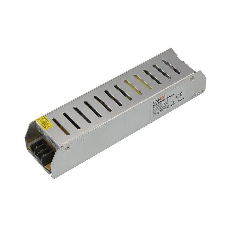 Источник питания компактный 12V, 100W с разъемами под винт, без влагозащиты (IP23)<br>Бренд: REXANT;