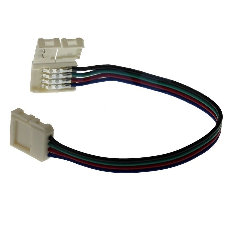 Коннектор соединительный (2 разъема) для RGB светодиодных лент шириной 10мм, Длина 15 см Neon-Night<br>Бренд: NEON-NIGHT;