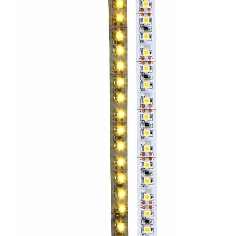 Лента светодиодная LED открытая, 8мм, IP23, SMD 3528, 120 LED/m, 12V, тепло-белая NEON-NIGHT<br>