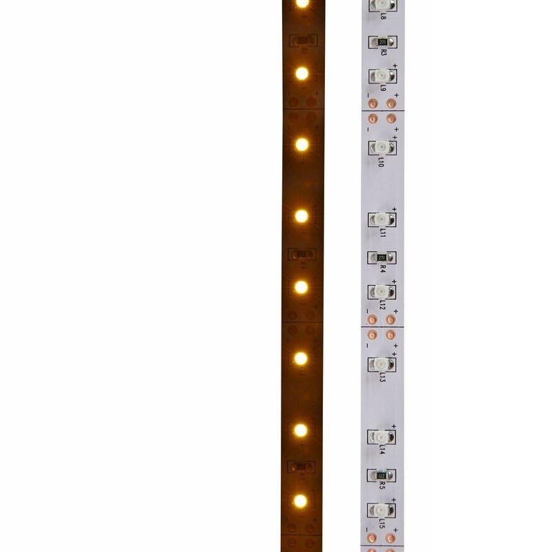Лента светодиодная LED открытая, 8мм, IP23, SMD 3528, 60 LED/m, 12V, желтая NEON-NIGHT<br>