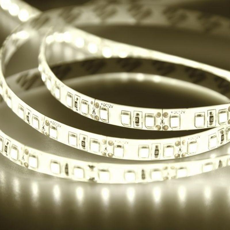 Лента светодиодная LED силикон, 8мм, IP65, SMD 3528, 120 LED/m, 12V, тепло-белая NEON-NIGHT<br>