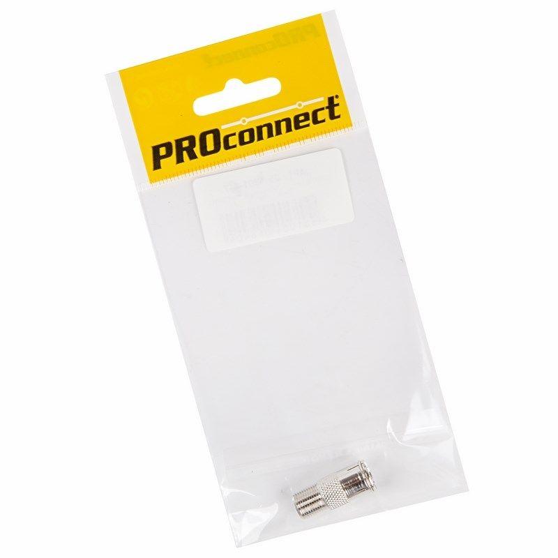 ПЕРЕХОД гн F - гн TV с кольцом PROCONNECT Индивидуальная упаковка 1 шт<br>
