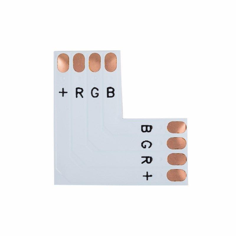 Плата соединительная (L) для RGB светодиодных лент шириной 10 мм Neon-Night<br>Бренд: Neon-Night;