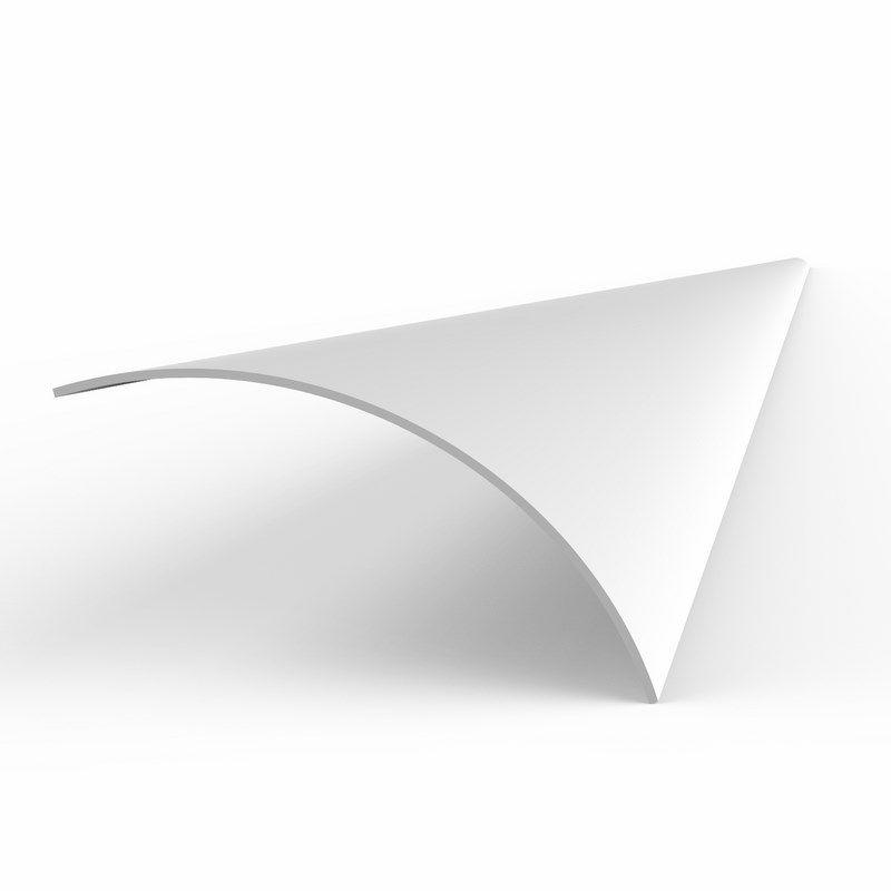 Рассеиватель матовый для профиля углового<br>