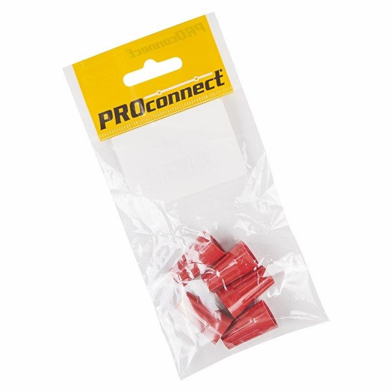Соединительный изолирующий зажим красный (4,0 до 13,5 кв, мм2) СИЗ-5 PROCONNECT Индивидуальная упаковка 5 шт<br>Количество в упаковке: 1 шт; Бренд: PROconnect;