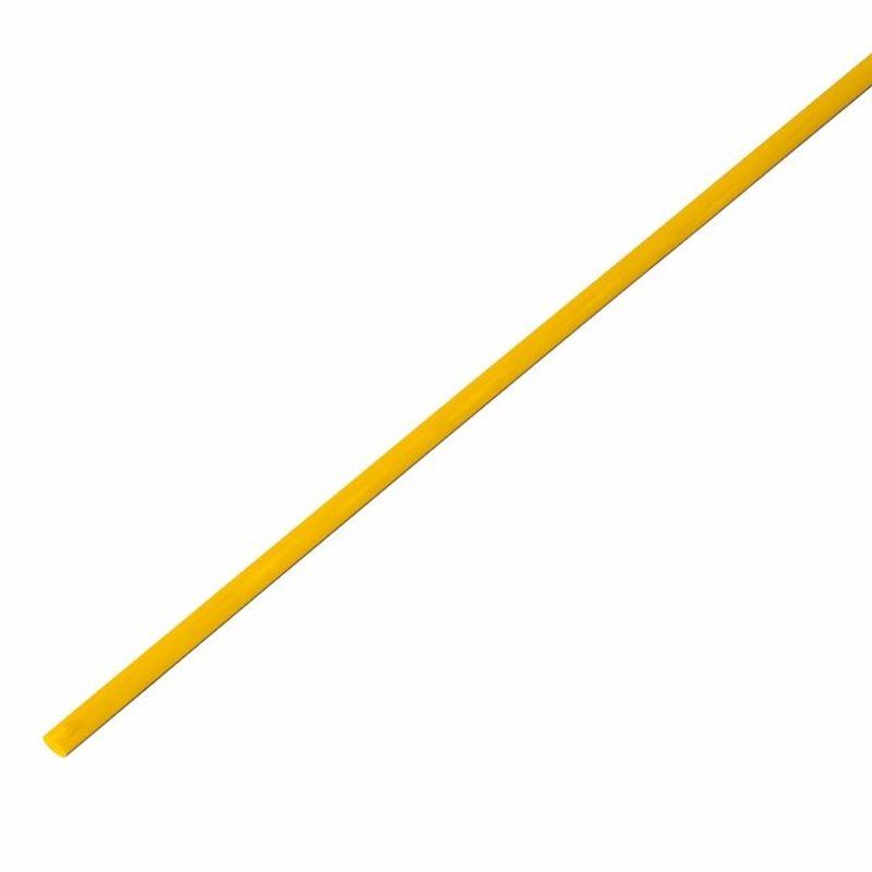 Термоусадка желтая 3,0/1,5 мм 1м REXANT<br>