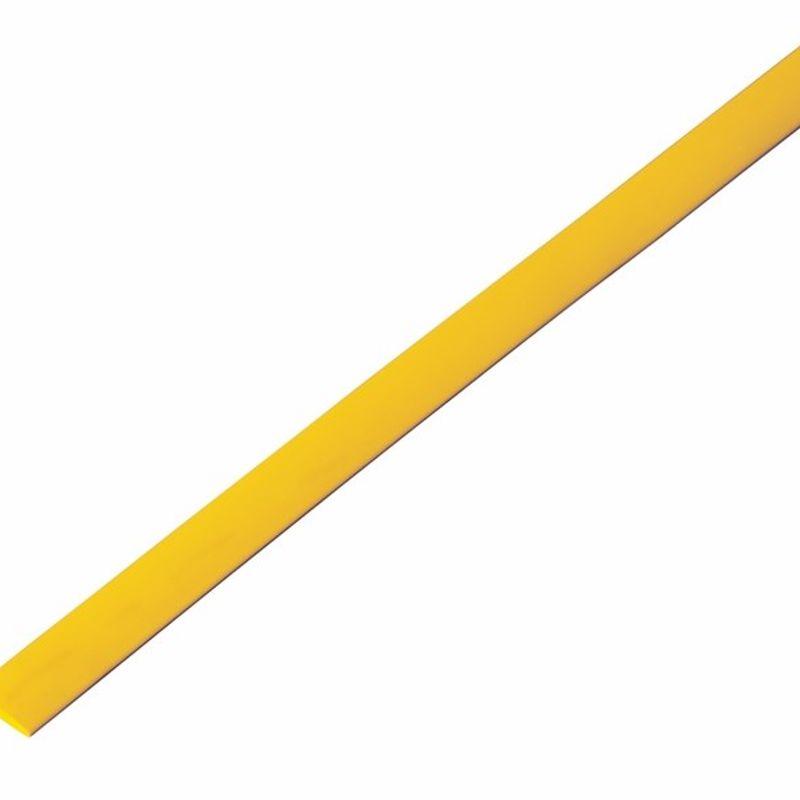 Термоусадка желтая 6,0/3,0 мм 1м REXANT<br>