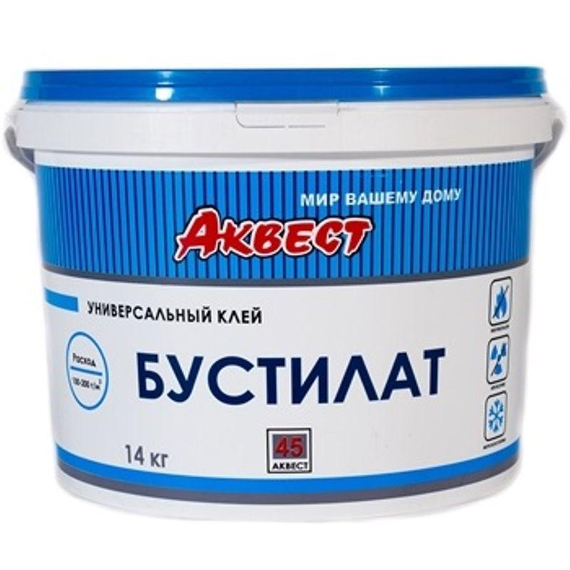 Клей бустилат универсальный Аквест 45, 2,7кг<br>Бренд: Аквест; Вес: 2.7 кг; Расход: 100-200г/м2 кг/м?;