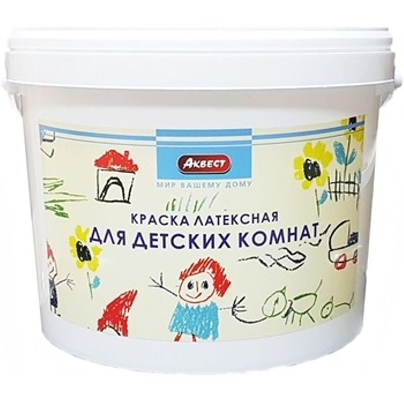 Купить Краска для детских комнат Аквест 22, 7кг, Белый