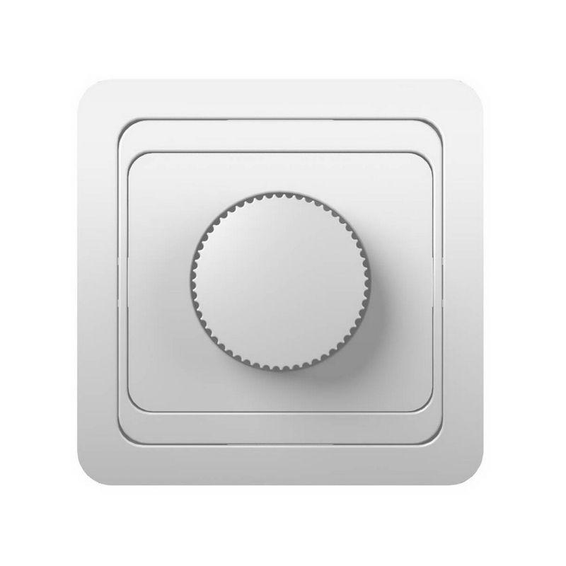 Светорегулятор Powerman Серия CLASSIC СП 600W цвет белый<br>Родина бренда: КИТАЙ; Бренд: Powerman; Коллекция: CLASSIC; Стилизация: МОНОТОННЫЙ; Цвет: БЕЛЫЙ; Тип выключателя: ПОВОРОТНЫЙ; Тип установки: ВСТРАИВАЕМЫЙ; Материал корпуса: ABS-пластик; Номинальный ток: 10 А; Номинальное напряжение: 220 В; Наличие рамки: ДА; Подсветка: БЕЗ ПОДСВЕТКИ; Высота: 45 мм; Ширина: 82 мм; Длина: 82 мм; Степень защиты: IP20;