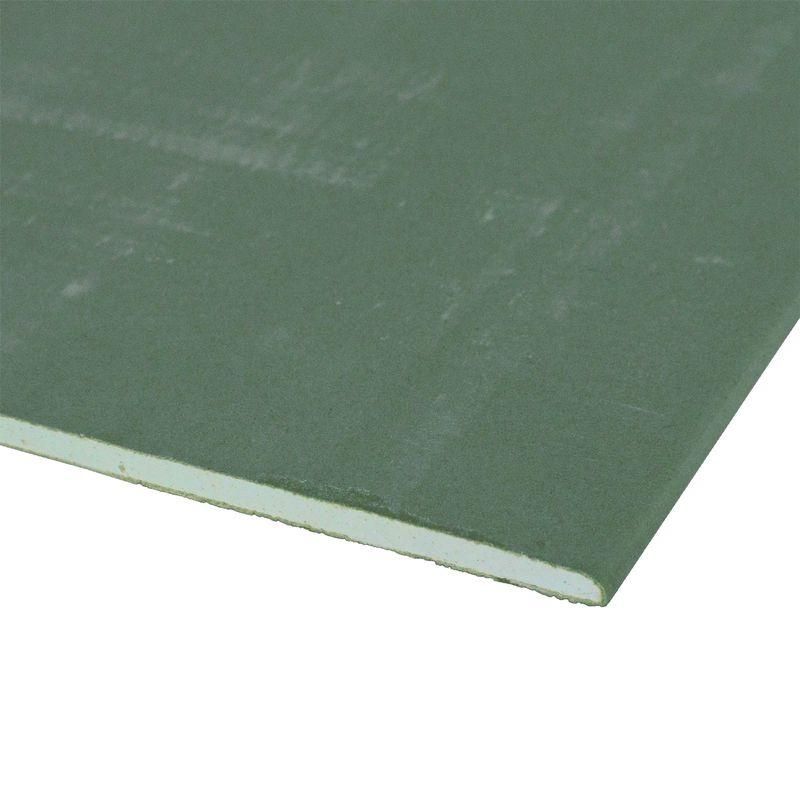Лист гипсокартонный влагостойкий Гипсополимер, 2500×1200×9,5 мм