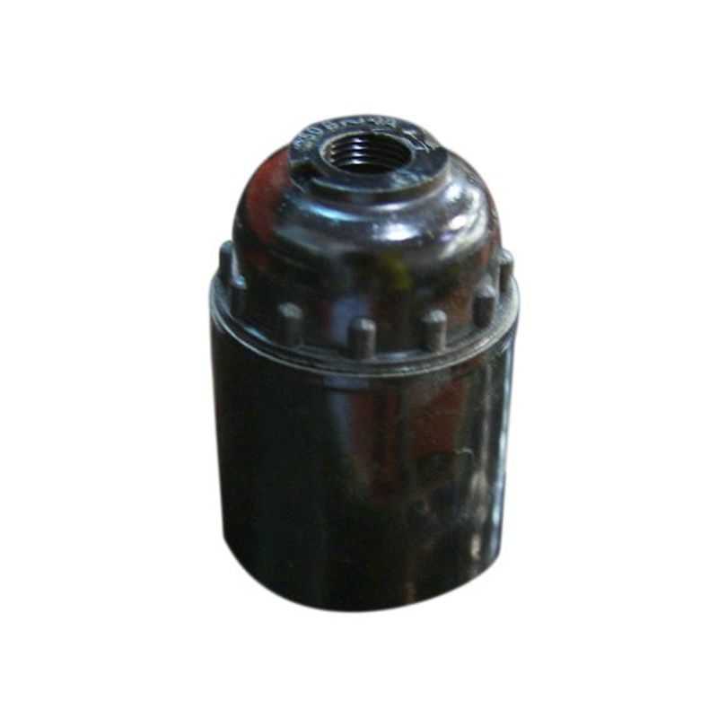 Патрон карболитовый подвесной Е27<br>Страна производитель: Украина; Бренд: Упп утос; Назначение: Для ламп с резьбой эдисона; Тип: Подвесной; Типоразмер цоколя: Е27; Способ монтажа: Шнуровой; Диаметр: 27 мм; Материал: Карболит; Цвет корпуса: Черный; Номинальный ток: 4 А; Номинальное напряжение: 220 В; Степень защиты: IP 20; Минимальная температура эксплуатации: -50 °C; Максимальная температура эксплуатации: +125 °C;