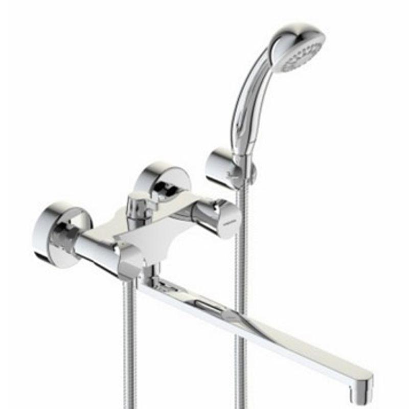 Смеситель для ванны Vidima Нео BA336AA поворотный излив