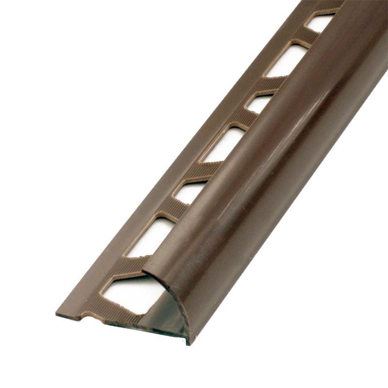 Закладка наружная Е7-8мм 2,5м (коричневый)<br>Цвет производителя: Коричневый; Цвет: Коричневый; Высота: 7-8 мм; Длина: 2,5 м; Материал: ПВХ;