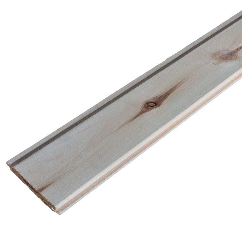 Купить со скидкой Вагонка осина 16x88x2500 мм, срощенная сорт АВ
