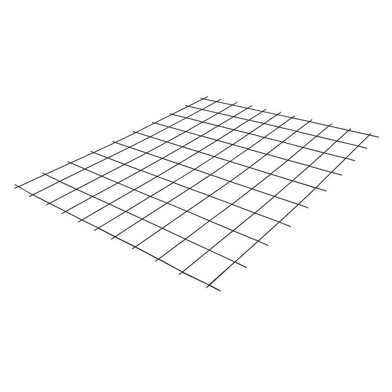 Сетка сварная 50х50мм d=4мм (3,6мм), (0,5х2м)<br>Материал: Сталь; Покрытие: Без покрытия; Размер ячейки: 50х50 мм; Диаметр проволоки: 4 (3,6) мм; Ширина: 0,5 м; Длина: 2 м; Форма выпуска: В картах;