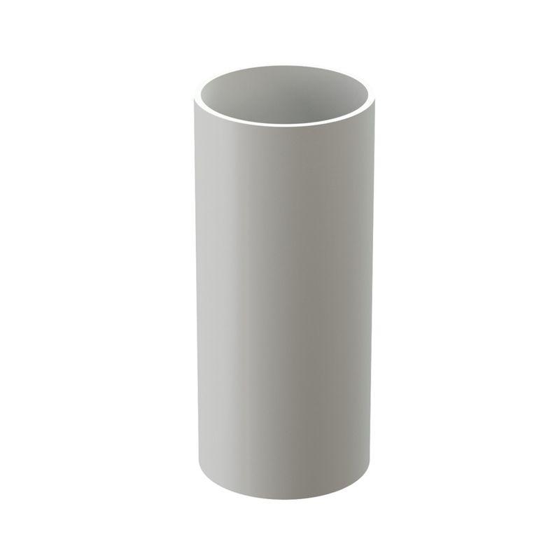 Труба водосточная Docke Standart 3м Пломбир<br>Бренд: Docke; Коллекция: Standard; Диаметр трубы: 85 мм; Материал: Пластик; Длина: 3000 мм; Сечение: Круглое; Цвет: Белый; Цвет производителя: Пломбир; Область применения: Для пвх водосточки; Страна производитель: Россия; Вес: 2,29 кг;