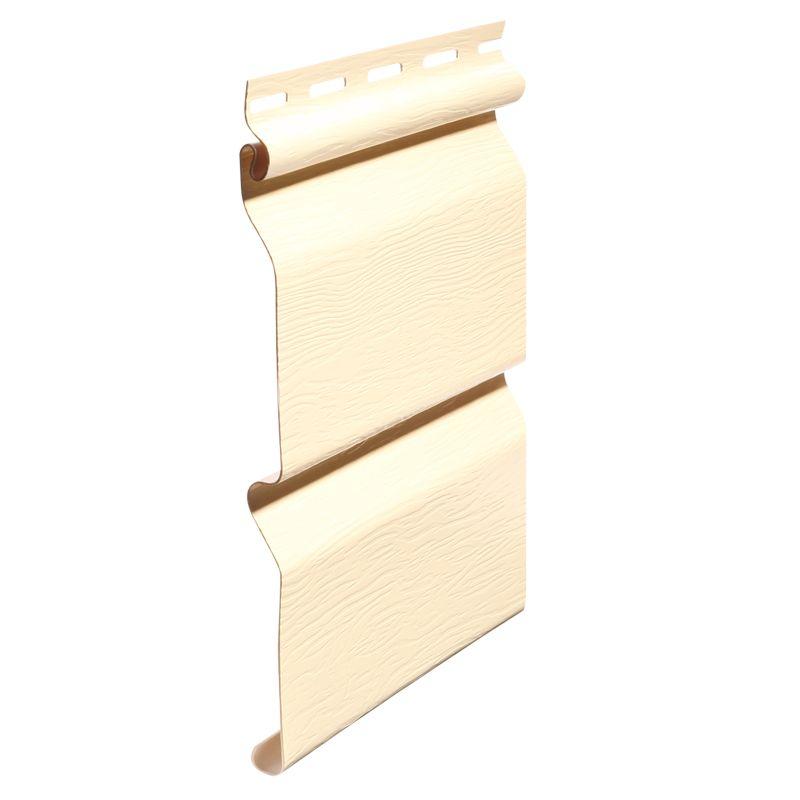 Сайдинг виниловый FineBer Standart светло-желтый 3660х205мм