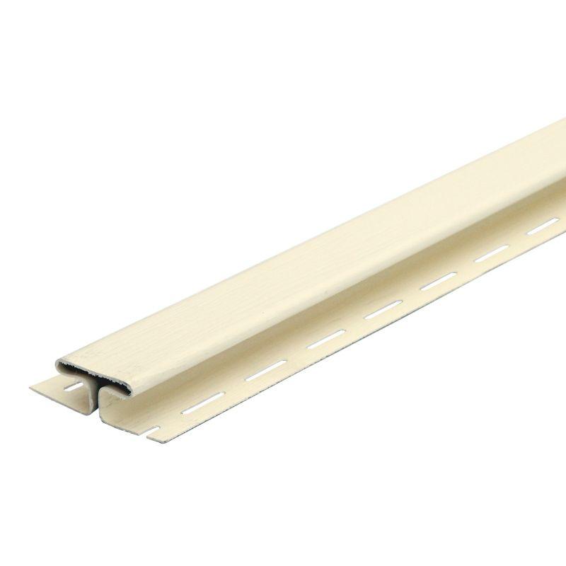 Профиль H (св.-желтый (шам.)) 3,05 м Файн БирПрименяется при горизонтальной стыковке панелей сайдинга<br><br><br><br><br><br><br><br><br><br><br><br>Бренд: FineBer; Длина: 3050 мм; Ширина: -  мм.; Толщина: 1,1  мм.; Покрытие: Поливинилхлорид; RAL: -; Цвет: Желтый; Температура монтажа: От -5 °С; Температура эксплуатации: От -50 до +50 °С; Дизайн: Под дерево; Срок эксплуатации: 25 лет  мес.; Цвет производителя: Светло-желтый; Вес: 0,86; Количество в упаковке: 16  шт.;
