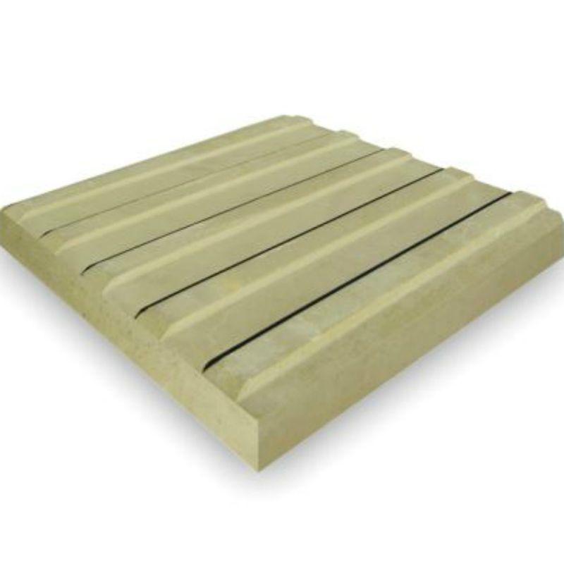 Плитка тактильная прямой риф 300х300х50 мм, желтая<br>Назначение: Пешая зона; Длина: 300 мм; Ширина: 300 мм; Толщина: 50 мм; Цвет: Желтый; Вид поверхности: Прямой риф; Способ производства: Вибролитье; Материал: Бетон; Прочность при сжатие: 392,9 кг/см?; Морозостойкость: F 200-300; Истираемость: 0,6 г/см?; Водопоглощение: 4 %; Вес: 7,2 кг; Количество в упаковке: 110 шт; Количество кв.м в упаковке: 15 м?; Производитель: ЭКО-плит; Страна производитель: Россия;