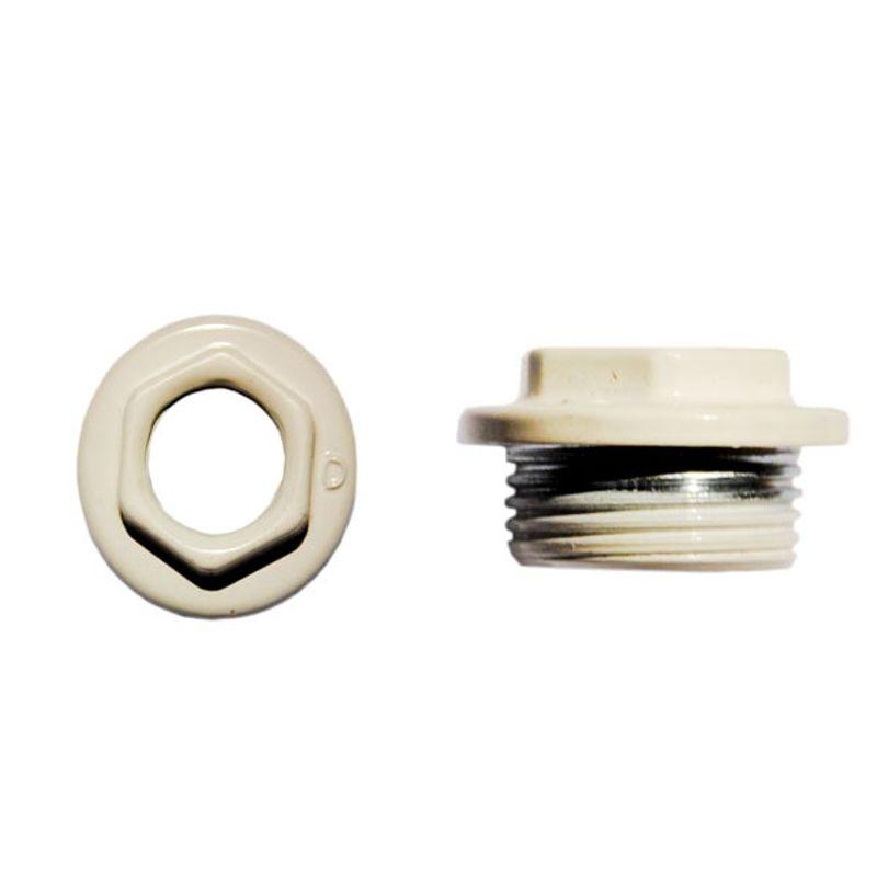 Переходник для радиатора правый 1х3/4 (белый)<br>Тип резьбы: Вр-нр; Диаметр резьбы: 1 х 3/4 ; Материал: Латунь; Бренд: Альтерпласт; Страна производитель: Китай;