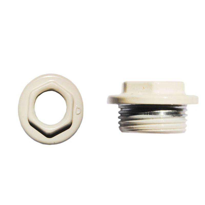 Переходник для радиатора левый 1х3/4 (белый)<br>Тип резьбы: Вр-нр; Диаметр резьбы: 1 х 3/4 ; Материал: Латунь; Бренд: Альтерпласт; Страна производитель: Китай;