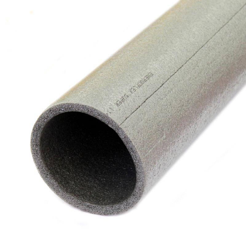 Трубная изоляция Энергофлекс Супер 110х9 ммТеплоизоляция Энергофлекс Супер 110/9<br><br>Теплоизоляция из вспененного полиэтилена, предназначена для тепло-, паро- и шумоизоляции труб диаметром 110мм. Толщина теплоизоляции 9 мм.<br><br>НАЗНАЧЕНИЕ:<br><br>Утепление трубопроводов водоснабжения и отопления (медные трубы диаметром 108мм);<br><br>Изоляция труб канализаций и вентиляций;<br><br>Применяется в системе кондиционирования.<br><br>ПРЕИМУЩЕСТВА:<br><br>Экологичность (экологичный и чистый материал, безопасен при работе и эксплуатации, при работе средства защиты не нужны, санитарная безопасность);<br><br>Долговечность (служит 20-25 лет, не гниет, увеличенная прочность материала, устойчив к перепадам температур);<br><br>Безопасность (отсутствие в составе вредных примесей);<br><br>Удобство монтажа (облегченный вес, гибкий, технологический надрез по всей длине);<br><br>Высокая теплоизоляция (0,035Вт/м*к);<br><br>Рабочая температура от -45Сдо 95С;<br><br>Защищает трубы &amp;nbsp;от конденсата и коррозии, препятствует их замерзанию.<br><br>Устойчив к строительным материалам с большим щелочным числом &amp;nbsp;<br>(цемент, бетон, гипс, известь);&amp;nbsp;<br><br>Звукоизоляционность (заглушает звуки разговора);<br><br>Водопоглощение по объёму &amp;ndash; не более 2%.<br><br>РЕКОМЕНДАЦИИ:<br><br>Общие рекомендации:<br><br>Рекомендовано не использовать Энергофлекс в местах с температурой более 100С;<br><br>Поверхность теплоизоляции сплошная, исключены дыры и углубления;<br><br>При монтаже вентиляций и кондиционеров требуется нанести на них антикоррозийное средство.<br><br>Рекомендации по монтажу:<br><br>При укладке не растягивается, швы проклеиваются самоклеящейся лентой. Используйте специальный герметик для стыков. Специальные зажимы фиксируют Энергофлекс на трубах;<br><br>Удалить образовавшееся на теплоизоляции загрязнение перед монтажом;<br><br>Если монтаж осуществляется в два слоя, необходимо смещать швы.<br><br>МЕРЫ ПРЕДОСТОРОЖНОСТИ:<br><br>Не растягивать Энергофлекс вдо