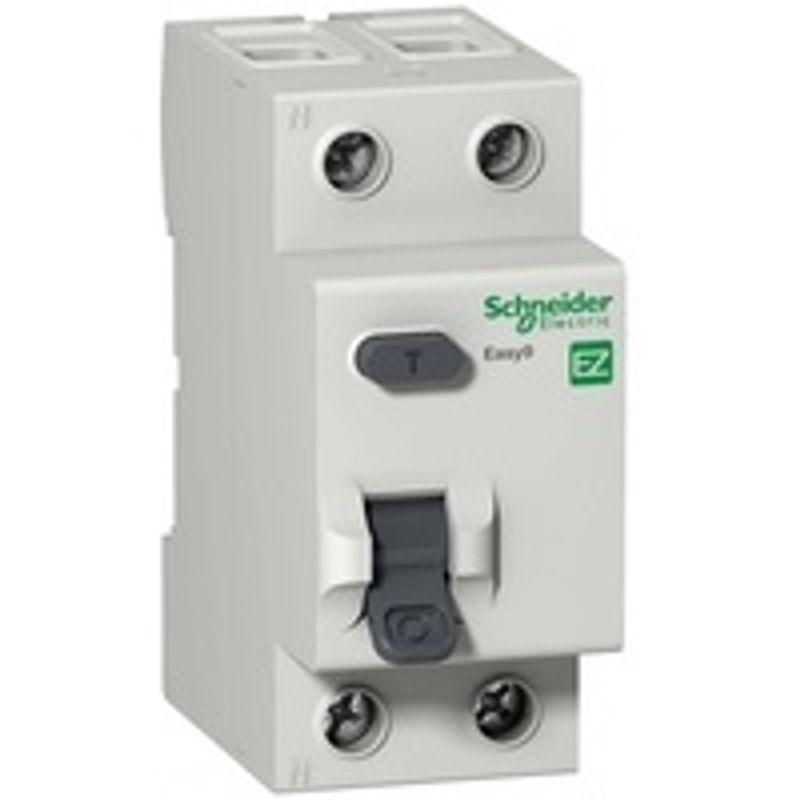 Выключатель дифференциального тока (УЗО) 2п 25А 30мА тип AC EASY9 SchE EZ9R34225