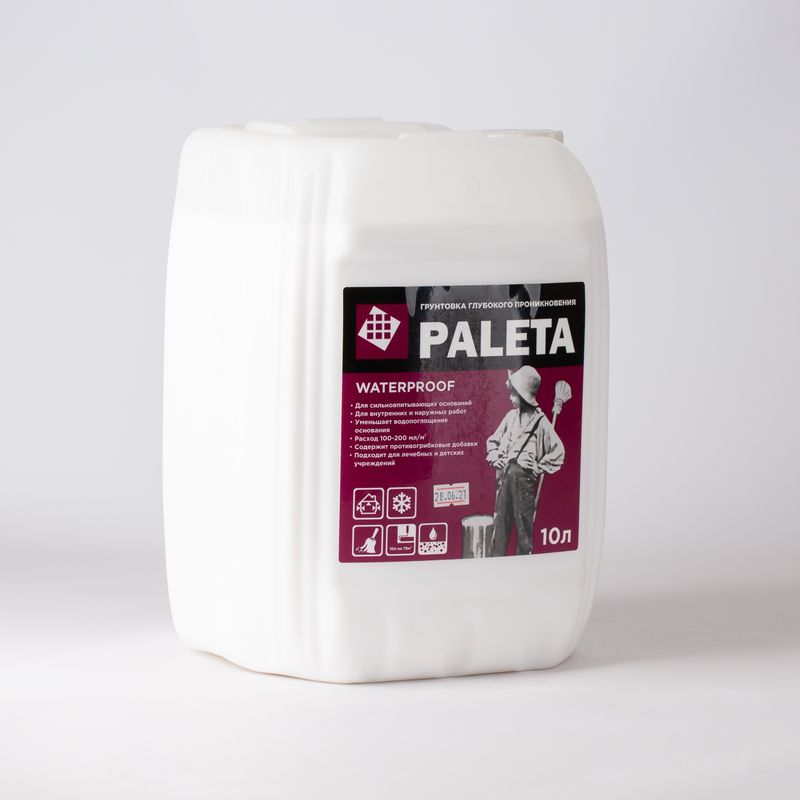 Грунтовка Paleta Waterproof 10л