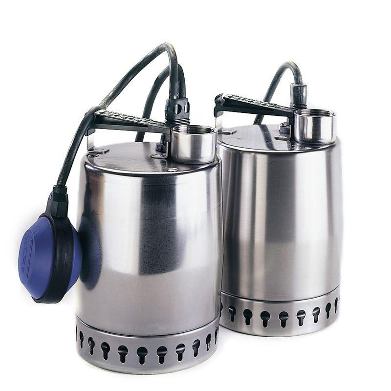 Дренажный насос Grundfos Unilift KP 150-M1 (011H1300)<br>Вид: Погружной; Тип: Дренажный; Максимальный размер частиц: 10 мм; Глубина погружения: 7 м; Высота подъема воды: 5,5 м; Минимальная температура воды: 0 °С; Максимальная температура воды: + 50 °С; Напряжение: 220 В; Вес: 6,5 кг; Присоединительный диаметр: 32 ; Длина кабеля: 10 м; Дополнительные функции: Тепловая защита; Бренд: Grundfos; Страна производитель: Дания; Модель: KP 150-M1; Гарантия: 2 года;