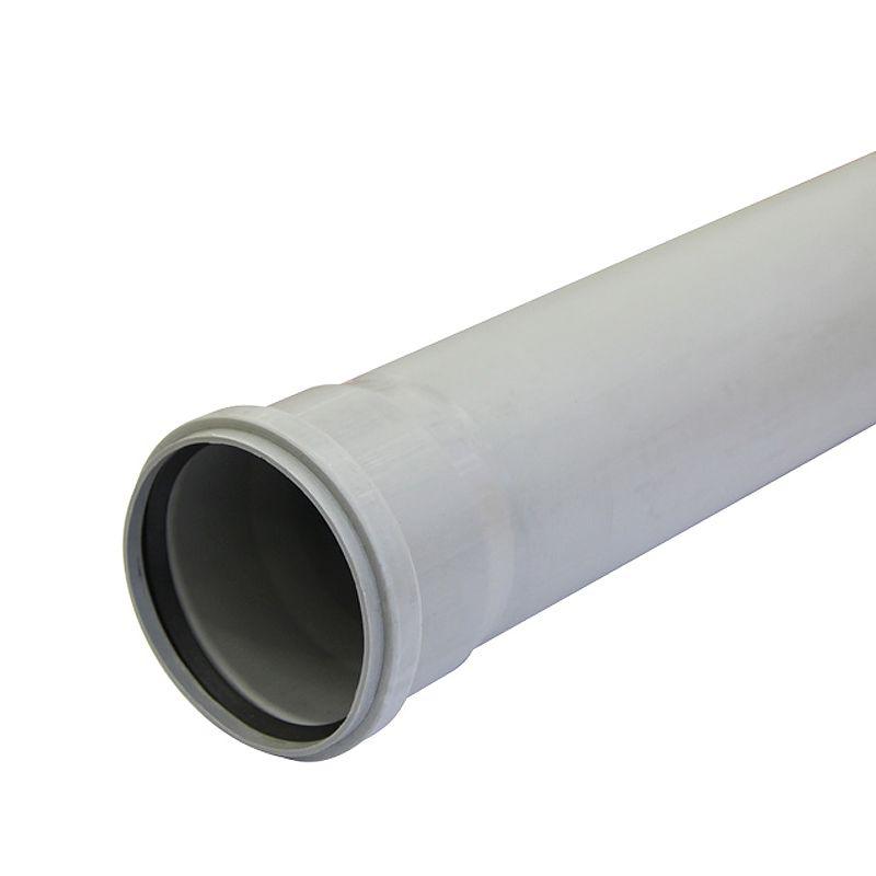 Труба канализационная 110х2,2х1500Труба канализационная 110 производится из полипропилена и служит для устройства канализационных систем внутри жилых, административных, производственных зданий для транспортировки хозяйственно-фекальных стоков.<br>Канализационные трубы 110 из полипропилена в 15-20 раз легче аналогичных труб из чугуна, толщина стенки составляет 2,5 мм. Трубы устойчивы к воздействию горячей воды до 95оС и к химическим моющим средствам. Не требуют покраски или подготовительной подготовки, легко соединяются между собой, благодаря наличию раструба с уплотнительным кольцом, высокая эластичность элементов и соединений позволяет гарантировать надежную работу системы не менее 50 лет. Рабочее давление соединений – до 1 атмосферы.<br><br>Страна производитель: Россия; Бренд: Без бренда; Тип канализации: Внутренняя; Диаметр: 110 мм; Длина: 1500 мм; Толщина стенки: 2,2 мм; Материал: Полипропилен; Цвет: Серый; Максимальная рабочая температура: + 95 °C; Срок службы: 50;