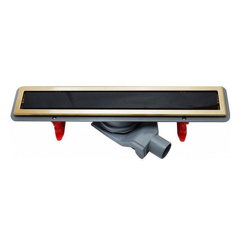 Душевой лоток Pestan Confluo Premium Line 75 см (13100098) черное стекло