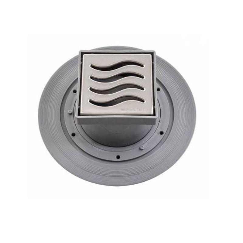 Трап для душа Pestan Confluo Standard Dry 1 100х100 мм (13000015) стальная решетка