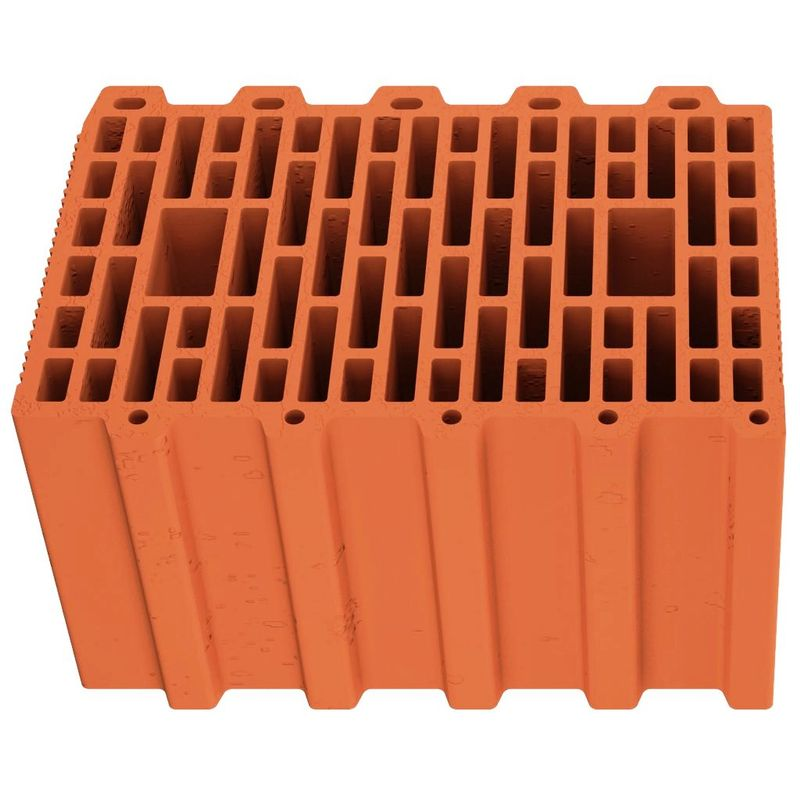 Блок керамический 10,7 НФ 250х380х219 мм, М-125 Кемма