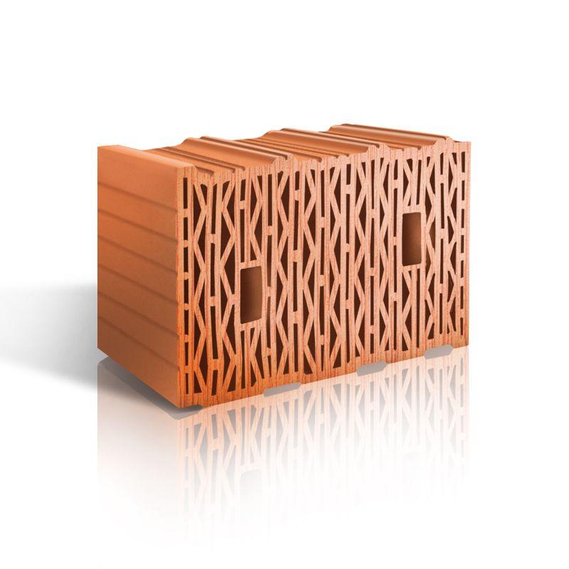Блок керамический поризованный 10,7 NF М-100 теплый, ЛСР