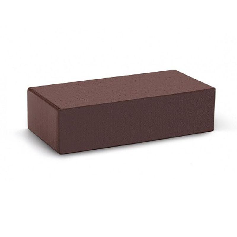 Кирпич облицовочный одинарный полнотелый М-300, Шоколад ручная формовка, КС-Керамик