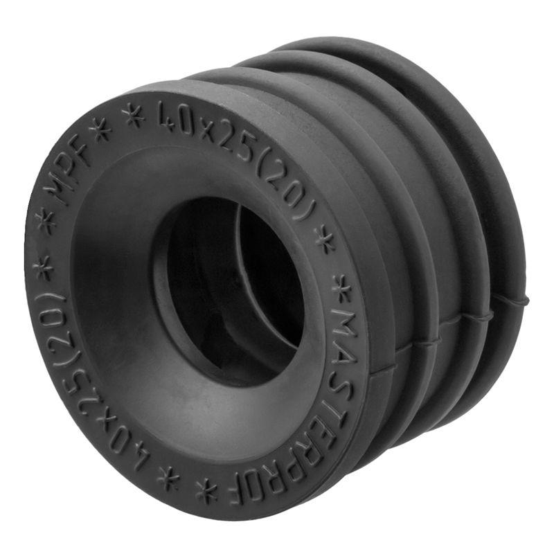 Манжета переходная 40х25Предназначена для перехода с одного диаметра трубы на другой при монтаже канализационных систем.<br>Страна производитель: Россия; Диаметр: 40х25 мм;