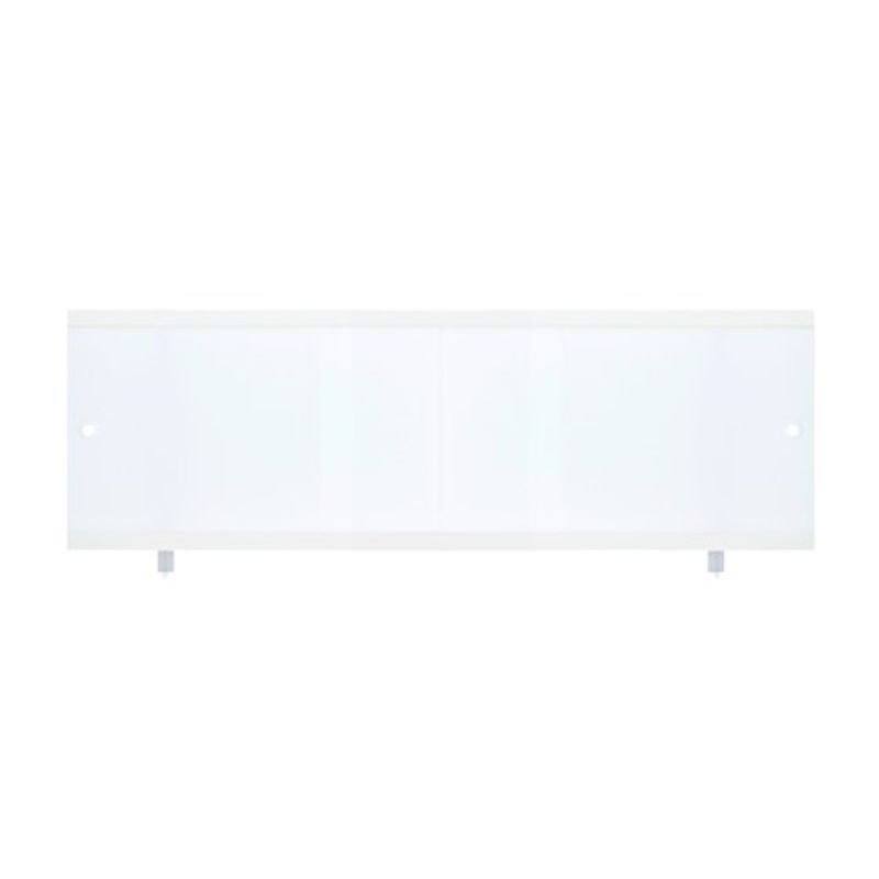 Экран д/ванны раздвижной белый 1,7м