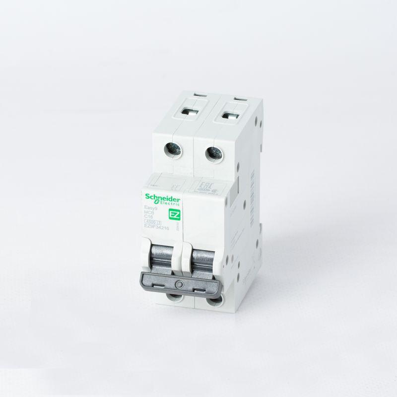 Выключатель автоматический модульный 2п C 16А 4,5кА EASY9 =S= SchE EZ9F34216