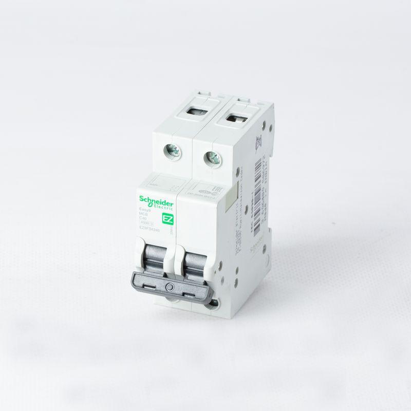 Выключатель автоматический модульный 2п C 40А 4.5кА EASY9 =S= SchE EZ9F34240