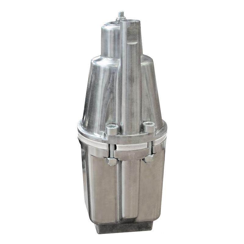 Насос вибрационный Малыш-М верхний забор воды, кабель 25мБытовой насос Малыш-М предназначен для подъема воды из колодцев диаметром более 100 мм, для водозабора открытых водоемов и бассейнов, для полива садовых участков.<br>Вибрационный насос Малыш выполнен с верхним забором воды, что обеспечивает постоянное охлаждение электромагнитной системы, предохраняя его от перегрева.<br>Верхний забор воды исключает засасывание ила со дна, а также замутнение воды.<br>Технические характеристики<br>Длина кабеля: 25 м<br>Номинальный напор воды: 40 м<br>Максимальный напор воды: 60 м<br>Номинальная подача: 0,43 м?/ч<br>Номинальное напряжение: 220 В<br>Номинальная мощность: 240 Вт<br>Частота тока: 50 Гц<br>Масса насоса: 3,4 кг<br>Вид: Погружной; Тип: Вибрационный; Рабочая среда: Чистая вода; Максимальная производительность: 1,5 м?/ч; Номинальная производительность (напор 40 м): 0,432 м?/ч; Глубина погружения: 3 м; Забор воды: Верхний; Максимальная высота подъема воды: 60 м; Номинальная высота подъема воды: 40 м; Максимальная температура воды: + 35 °С; Мощность: 240 Вт; Напряжение: 220 В; Высота: 255 мм; Диаметр насоса: 99 мм; Вес: 3,4 кг; Длина кабеля: 25 м; Степень защиты: X8; Бренд: Ливгидромаш; Страна производитель: Россия; Модель: Малыш-м; Гарантия: 18 месяцев;