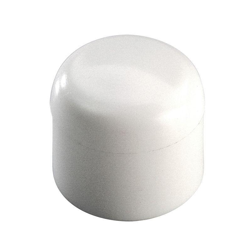 Заглушка полипропиленовая 20 РВК<br>Диаметр: 20 мм; Тип монтажа: Сварка; Максимальная рабочая температура: до + 95 °С; Цвет: Белый; Бренд: РВК; Страна производитель: Россия;