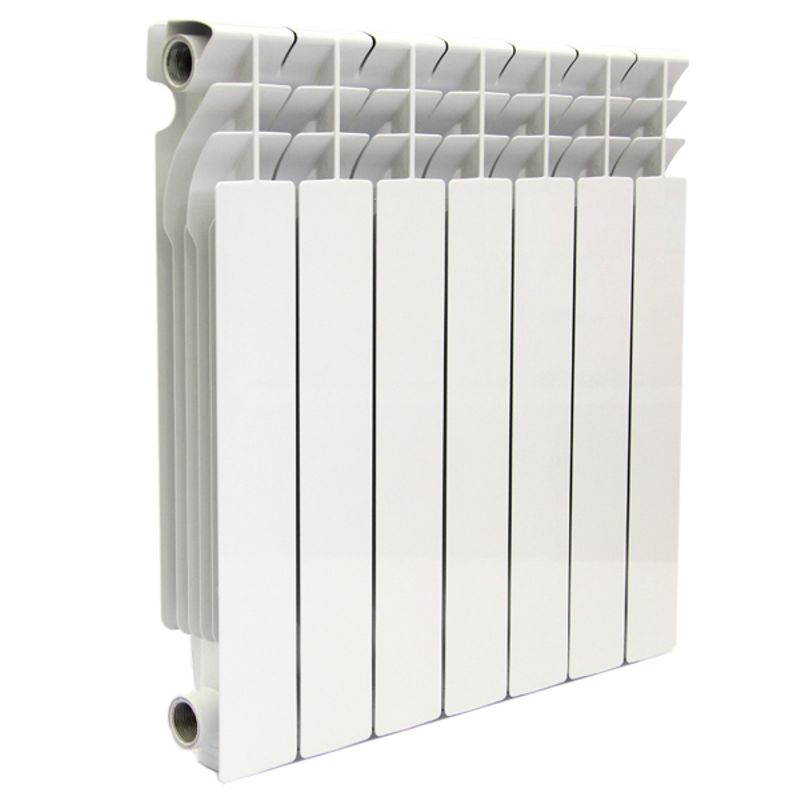 Купить со скидкой Радиатор алюминиевый RADENA 500 8 секций