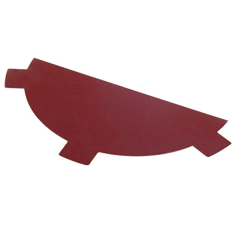 Купить Заглушка конька круглого простая (ПЭ-3005-ОН) крас.вино, Красное вино