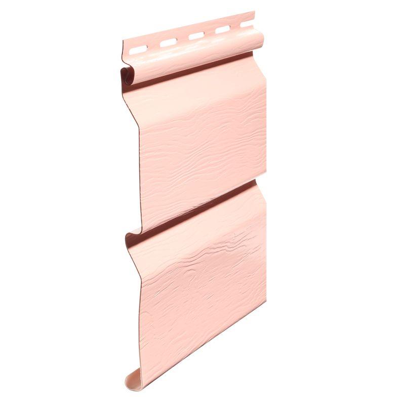 Сайдинг виниловый FineBer Standart фламинго 3660х205мм