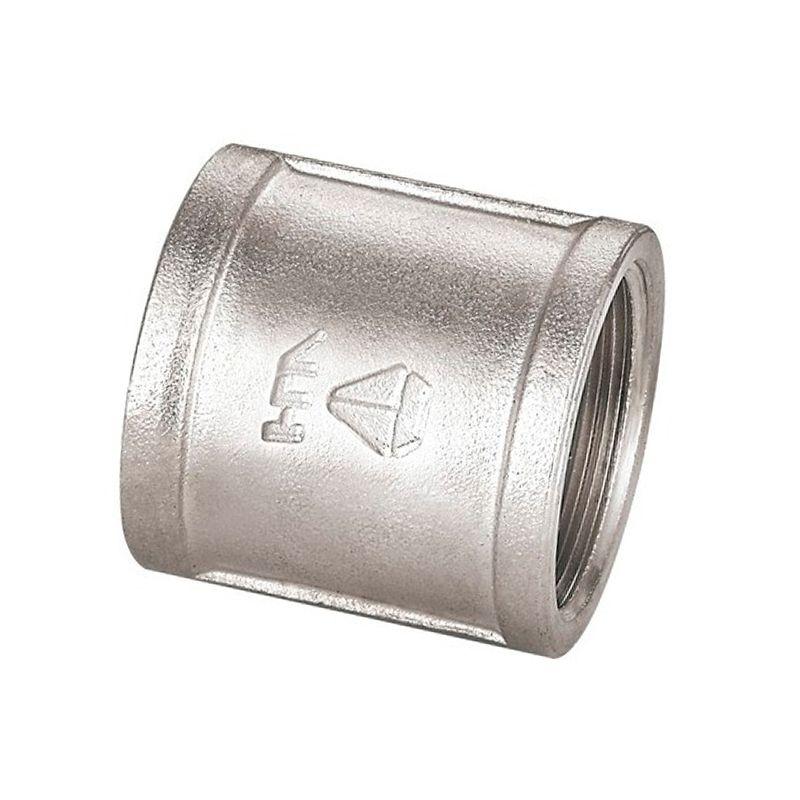 Муфта соединительная ВР 3/4 HLV<br>Тип: Соединительная; Тип резьбы: Вр; Диаметр резьбы: 3/4 ; Максимальная температура рабочей среды: + 110 °C; Материал: Латунь никелированная; Бренд: HLV; Страна производитель: Китай;